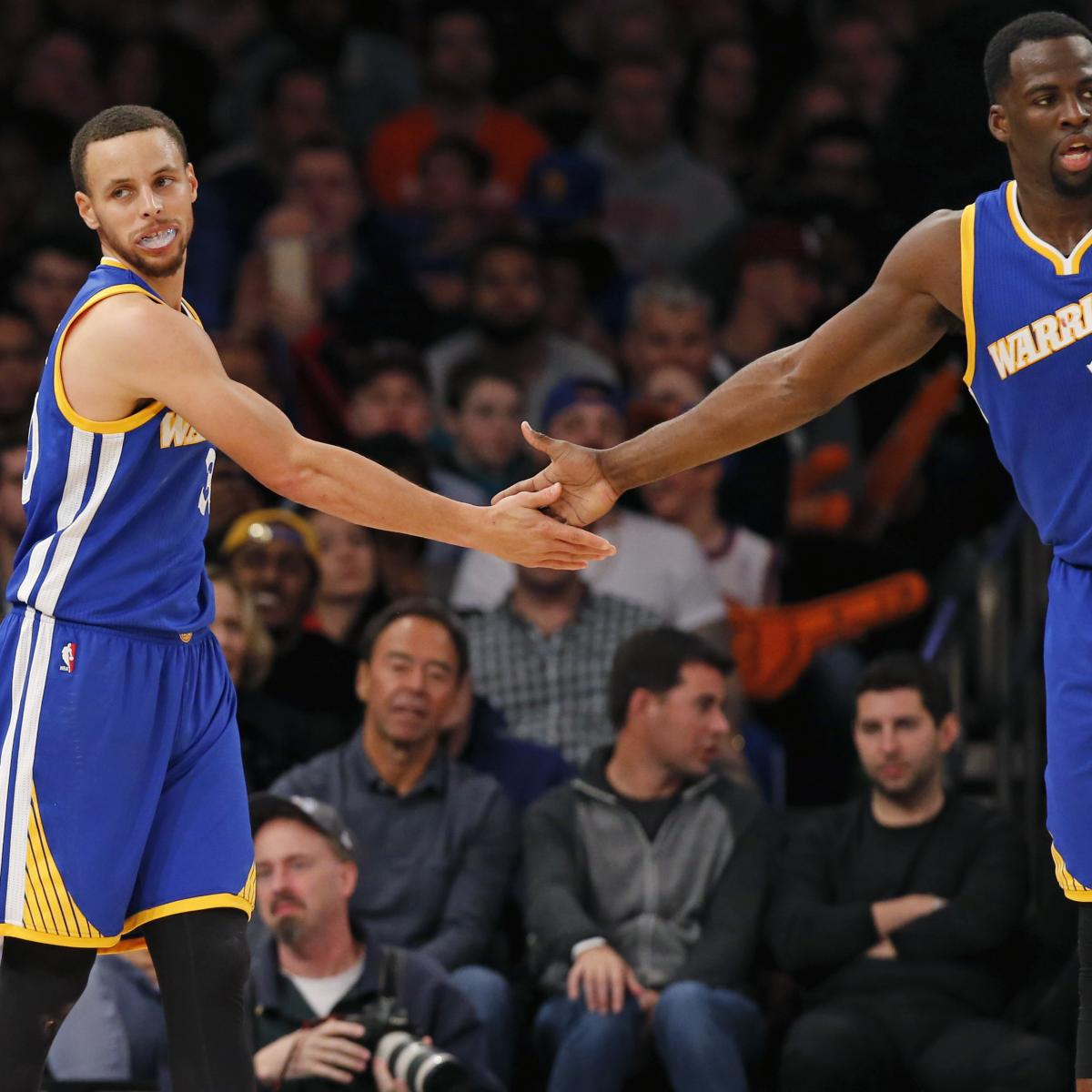 Draymond Green Discusses Drinking with Stephen Curry to Help Break out of Slumps