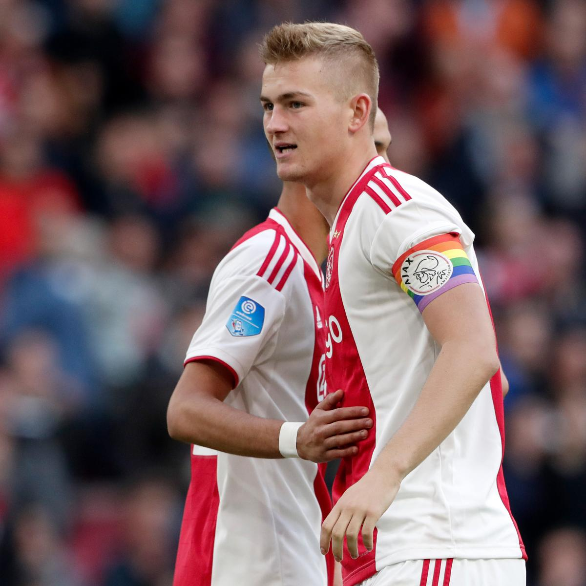 Report: Mino Raiola Could Persuade Matthijs de Ligt to Reject Manchester United
