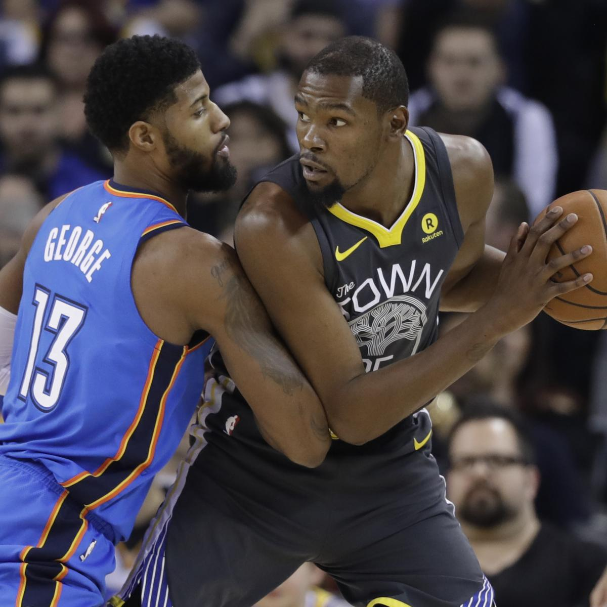 NBA Opening Night 2018: TV Schedule, Live Stream and Predictions
