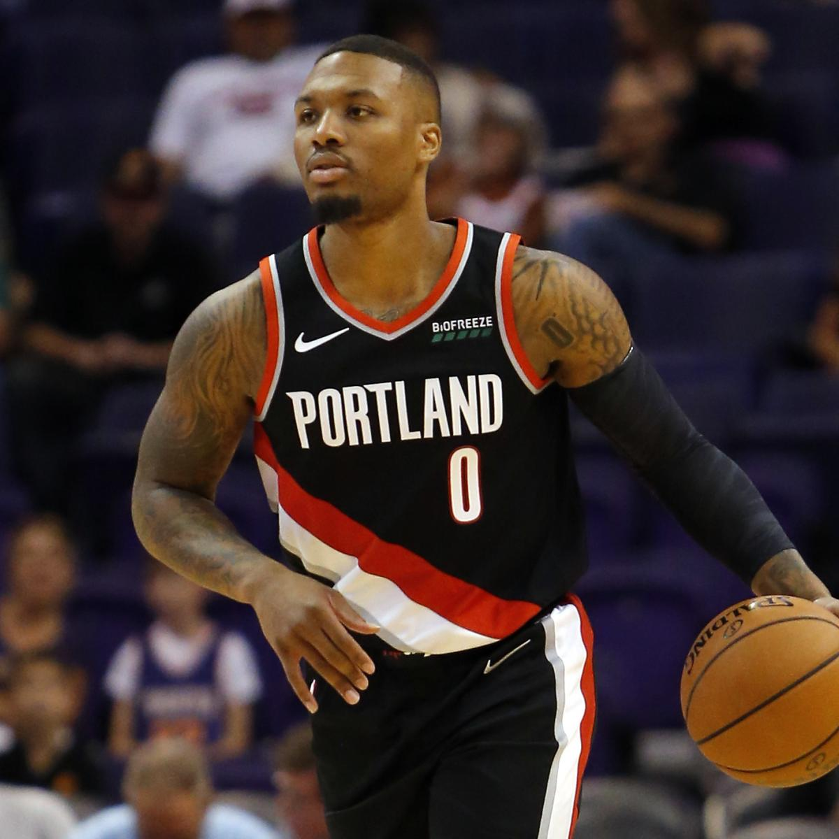 Damian Lillard Responds to Critics Who Say Trail Blazers Will Miss NBA Playoffs