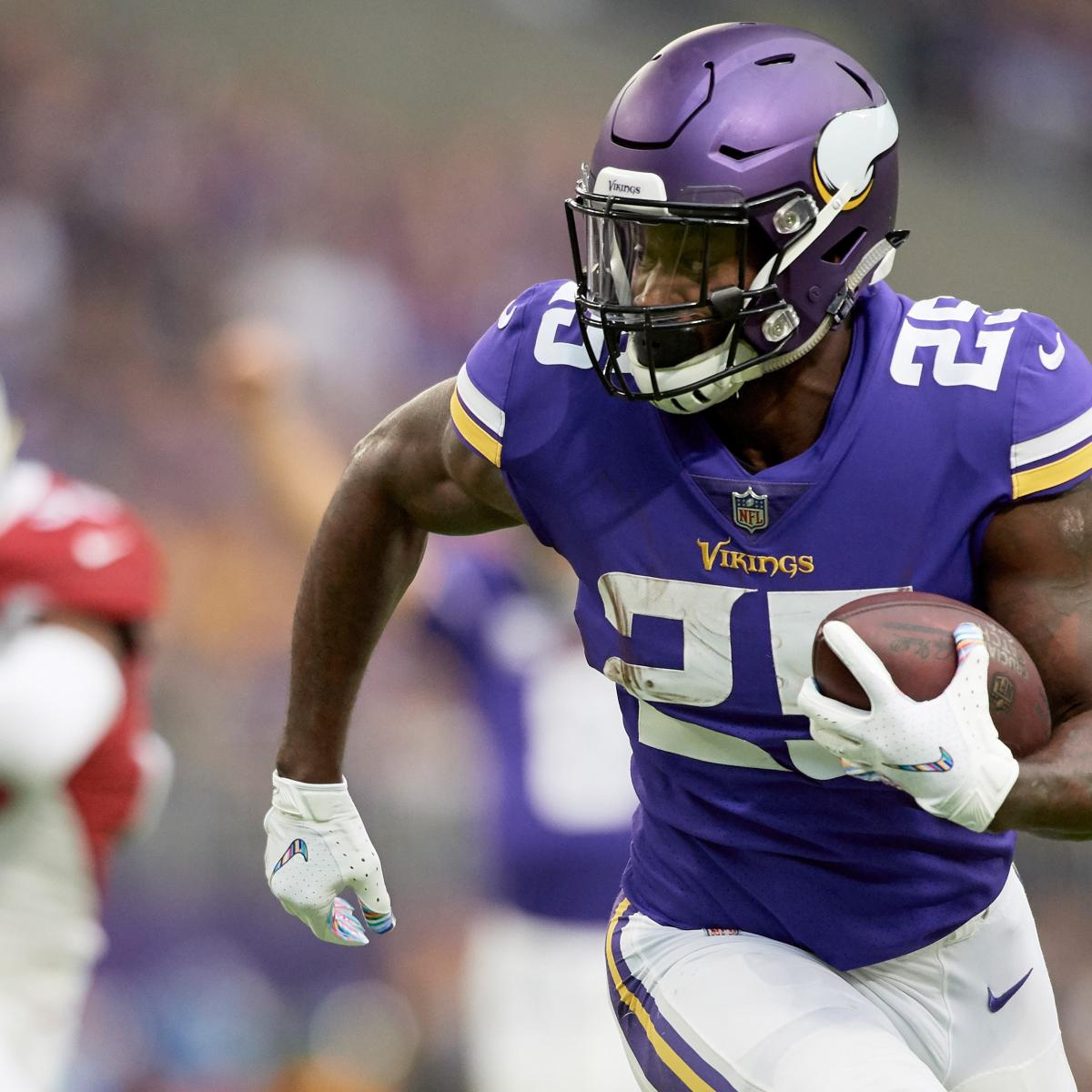 Latavius Murray's Fantasy Outlook vs. Jets After Injured Dalvin Cook Ruled out