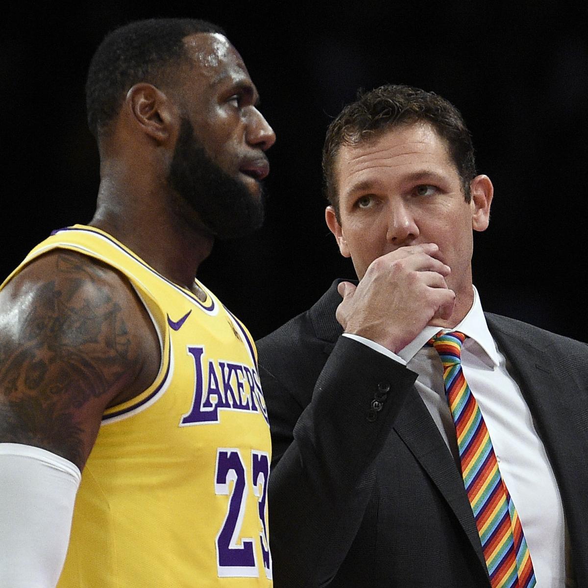 Lakers News: Luke Walton Says LeBron James' Minutes Will Be Monitored
