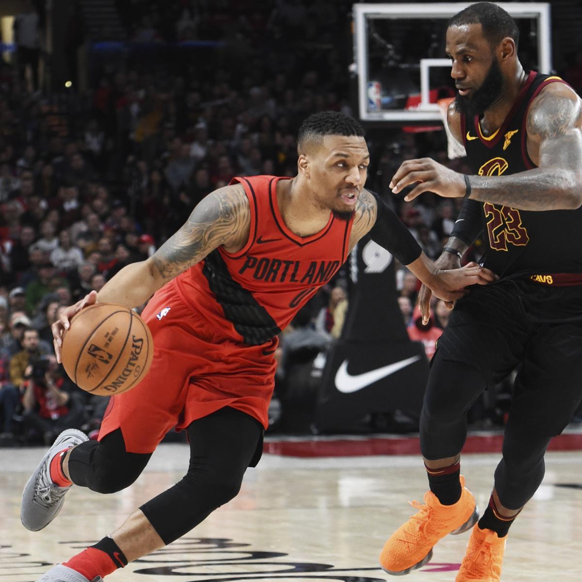 Lakers Trade Rumors: LeBron James Wants to Play with Damian Lillard