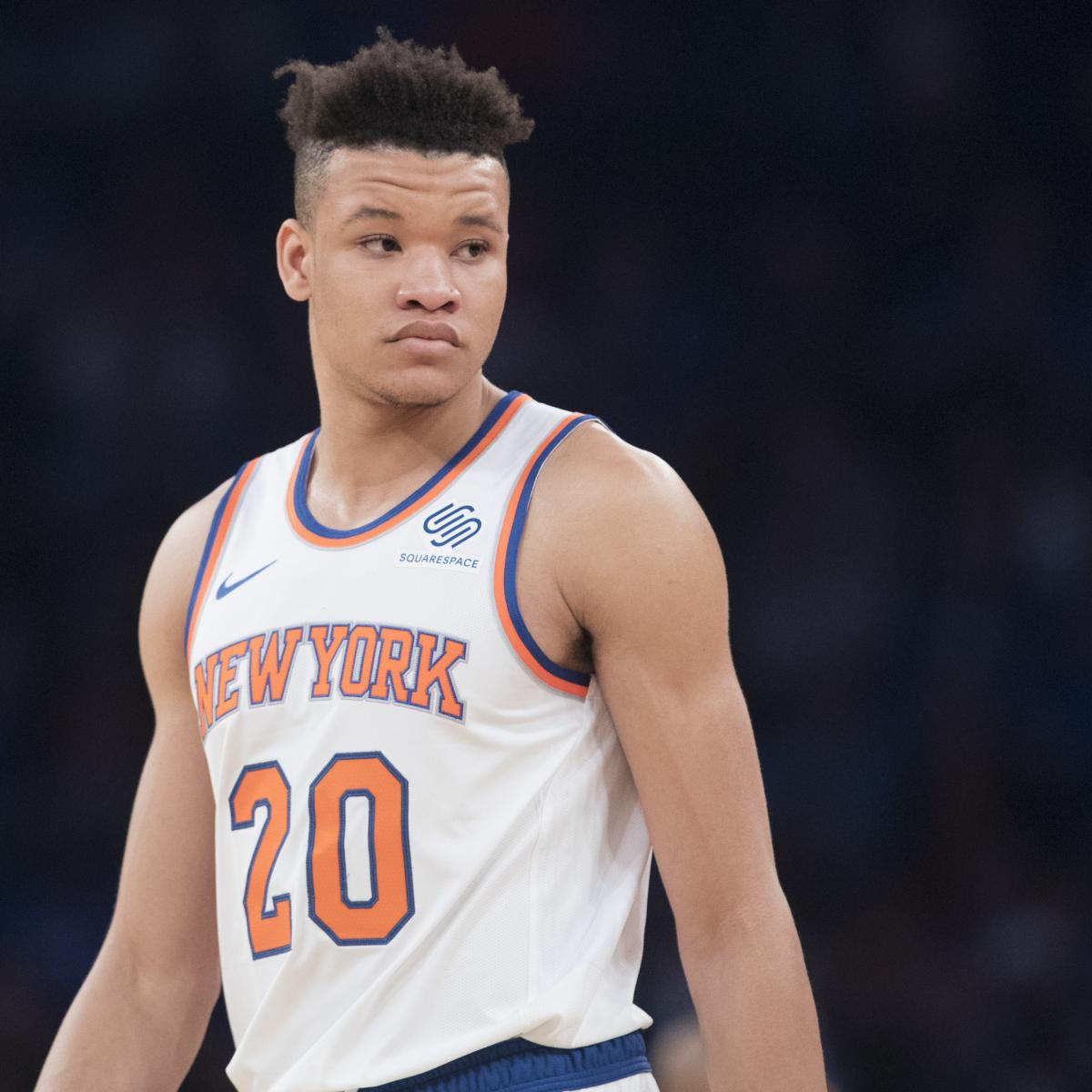 Kevin Knox Won't Return vs. Celtics After Suffering Ankle Injury