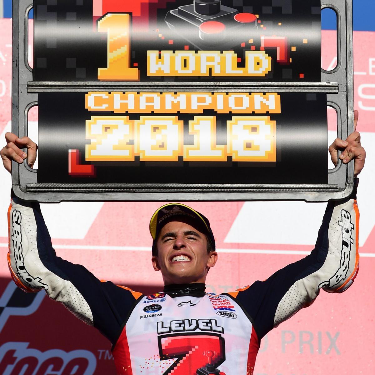 Marc Marquez Crowned 2018 MotoGP World Champion After Japan Grand Prix Win