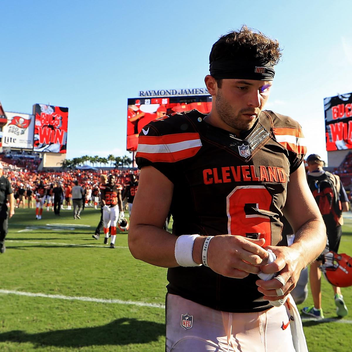 Browns' Own Mistakes Spoiling Baker Mayfield's Rookie Season