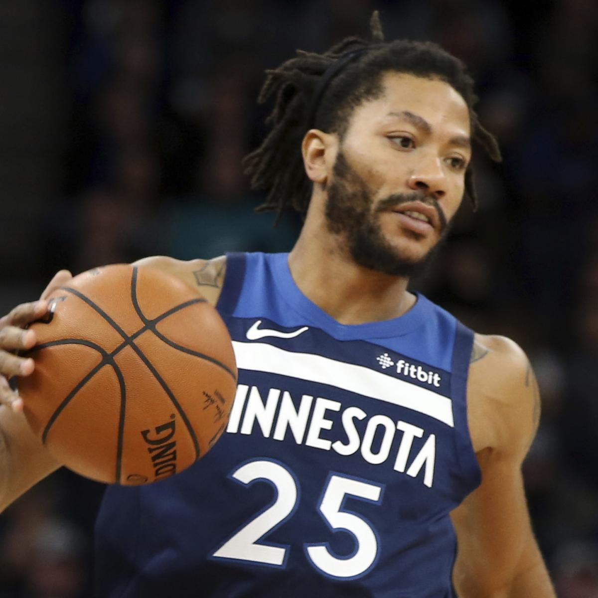 Tom Thibodeau: Derrick Rose Is 'One of the Best' in NBA When Healthy