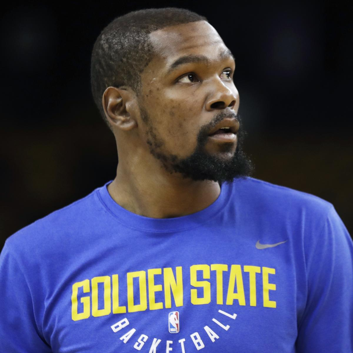 Kevin Durant Not Impressed with Banner in New York Recruiting Him to Knicks