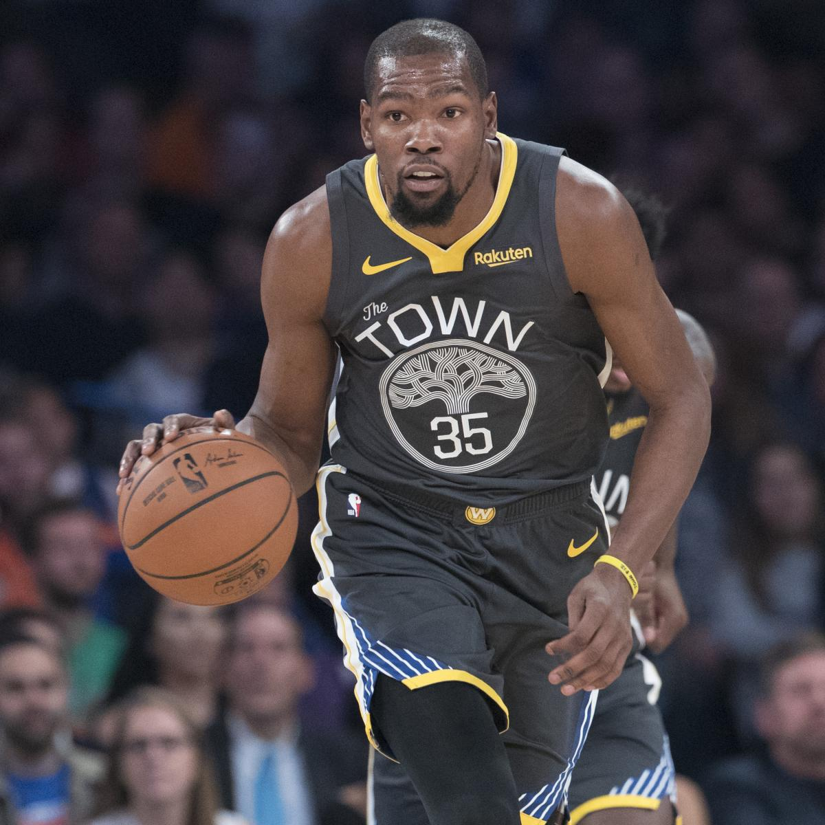 Kevin Durant Rumors: 'The Warriors in Zero Way Fear the Knicks' in Free Agency