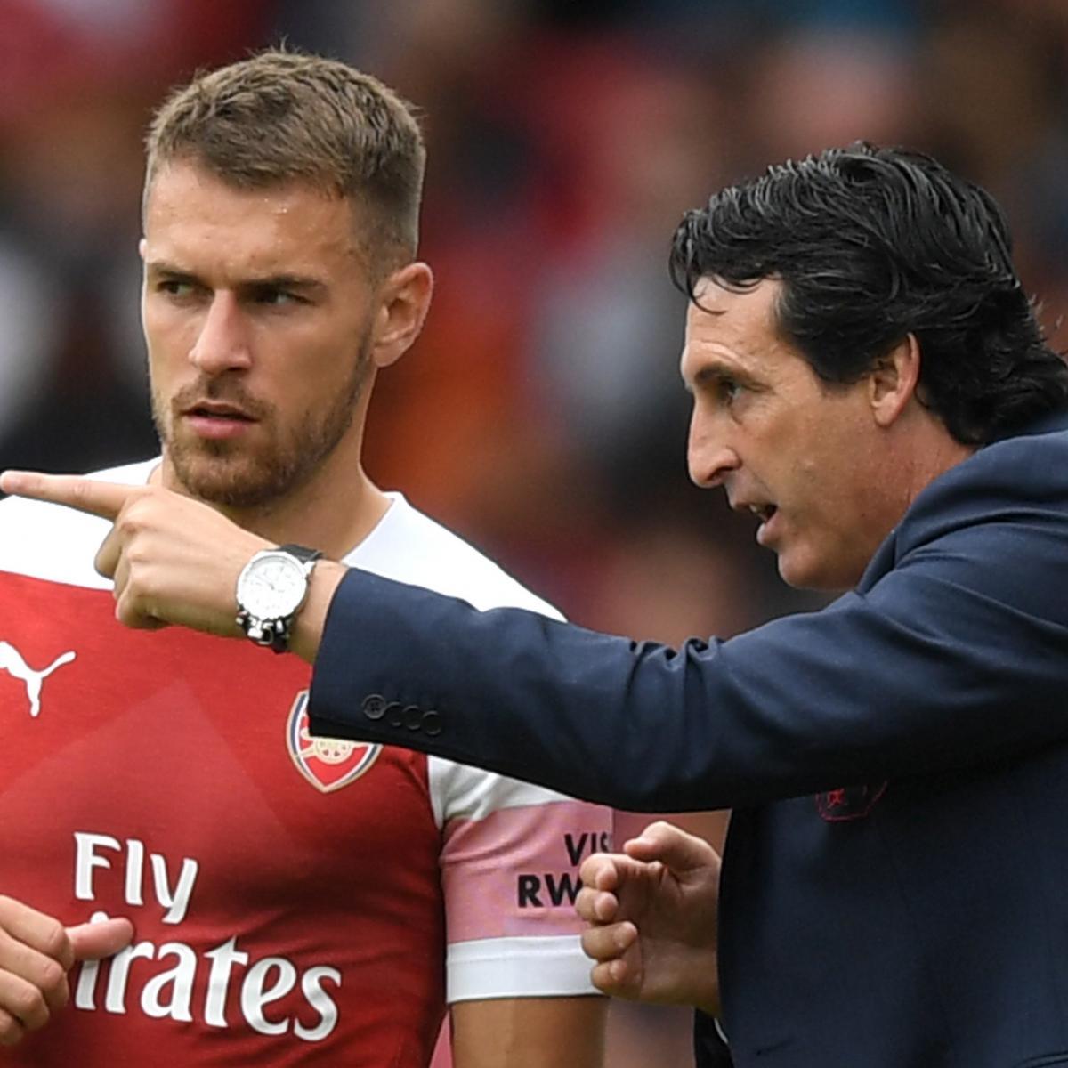 Unai Emery Praises Aaron Ramsey as Arsenal Target Replacements for Midfielder