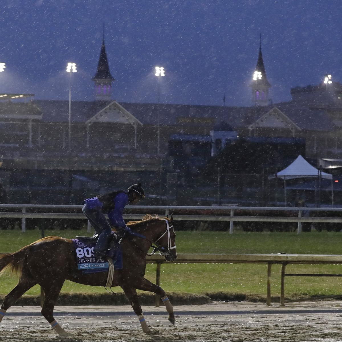 Breeders' Cup 2018 TV Schedule: Friday Coverage, Race Times and More