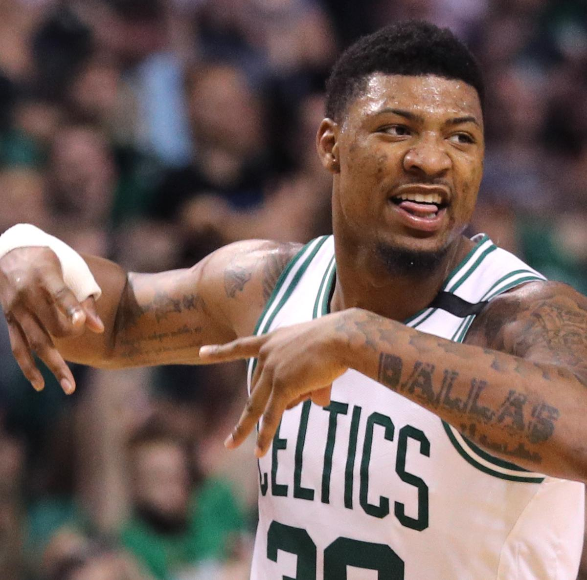Marcus Smart Raps About $52M Celtics Contract in Music Video