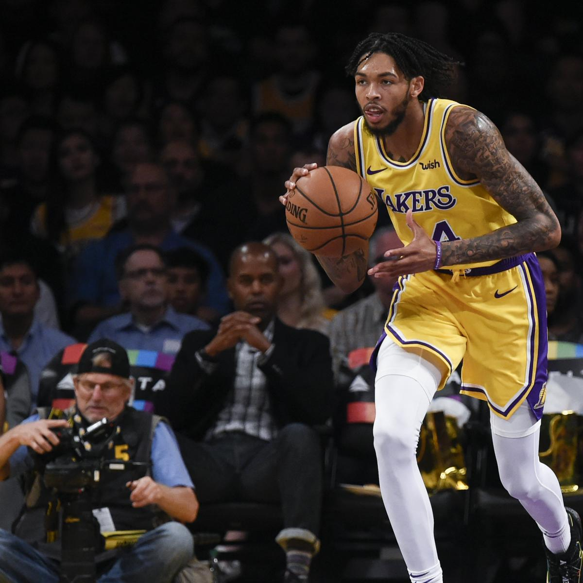 Lakers News: LeBron James Says 'Nobody Else' Can Play at Brandon Ingram's Pace