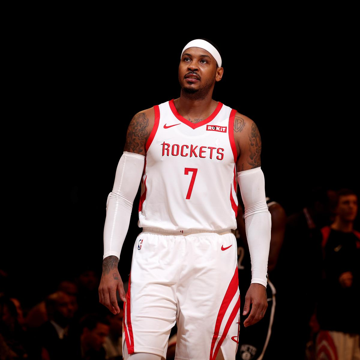 NBA Rumors: Latest Buzz on Carmelo Anthony, Markelle Fultz and More