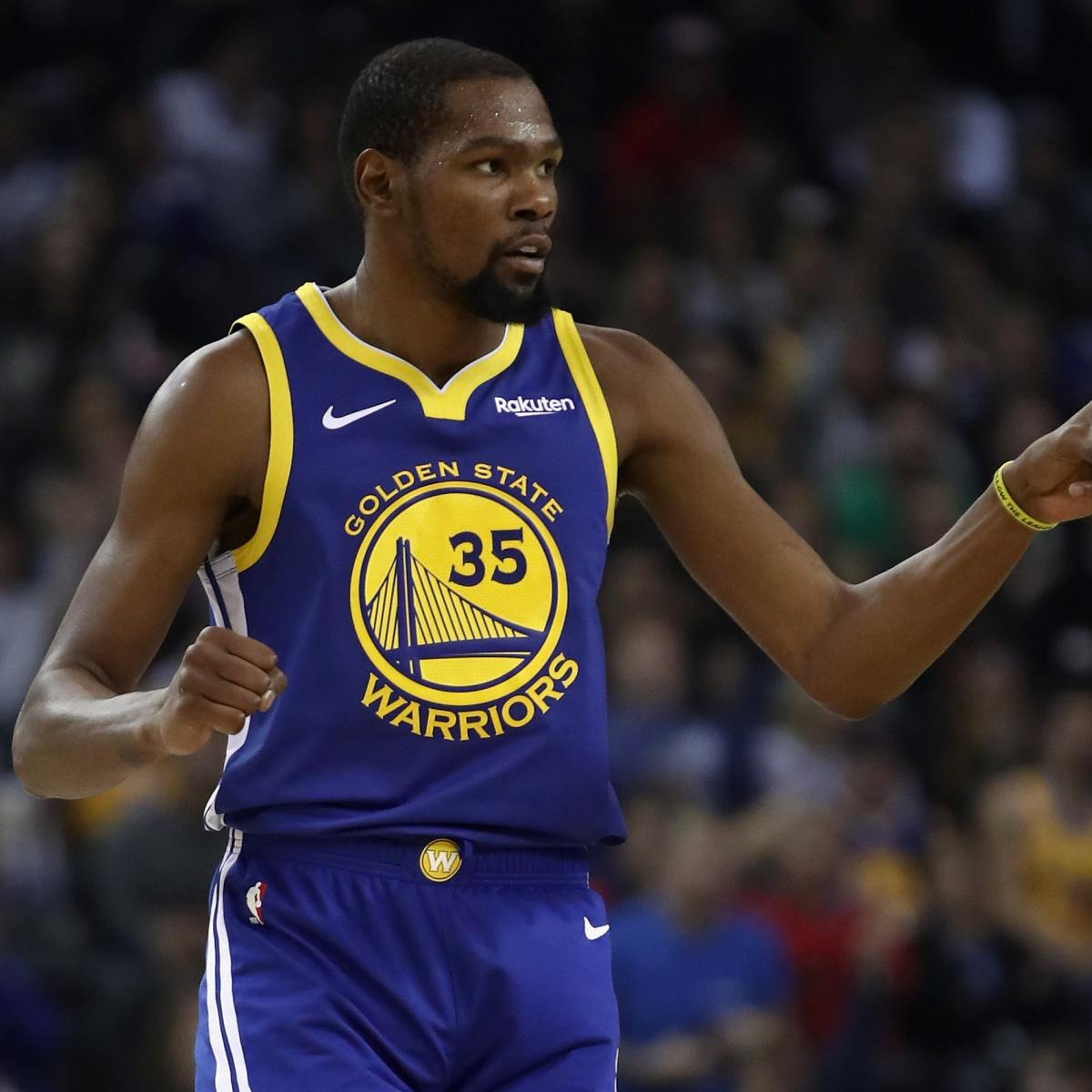 Kevin Durant's Brother Posts Cryptic Messages After Draymond Green Altercation