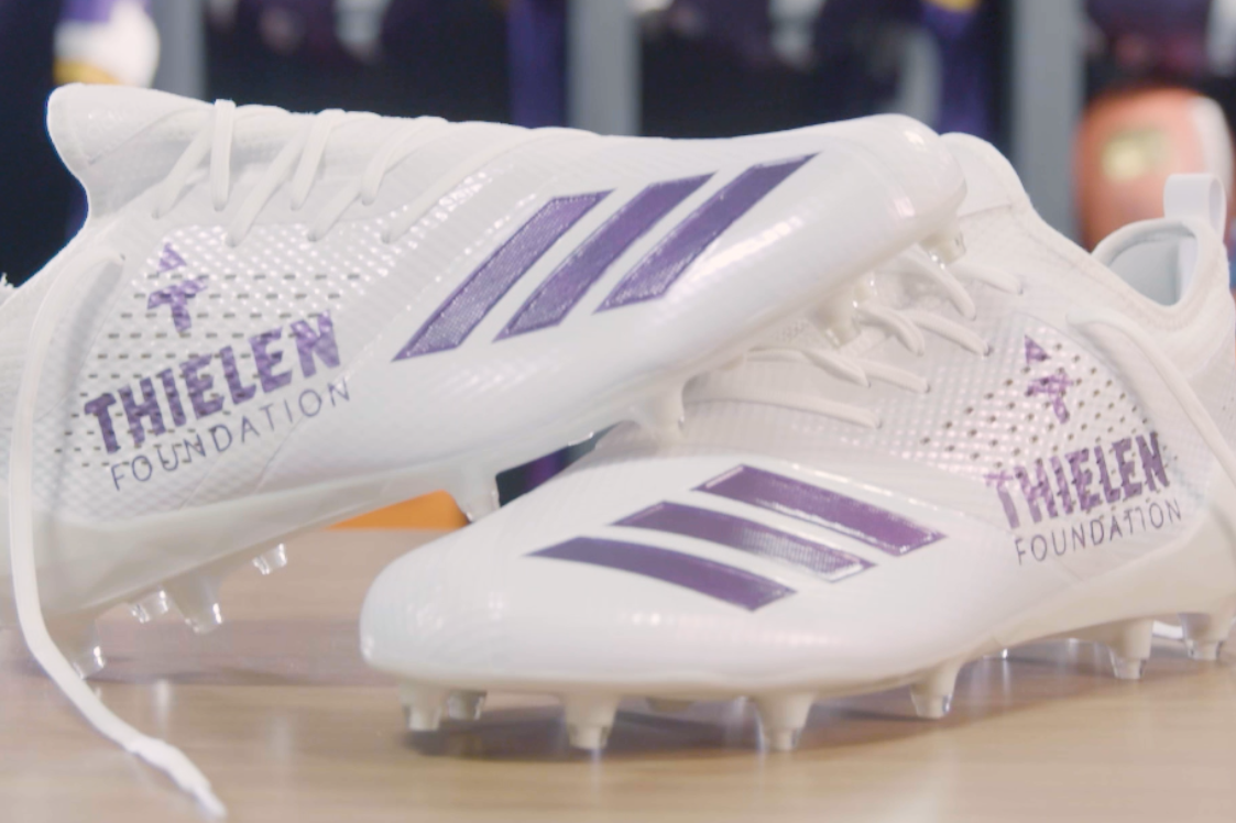 Vikings Reveal What They're Playing for in NFL's 'My Cause, My Cleats' Campaign