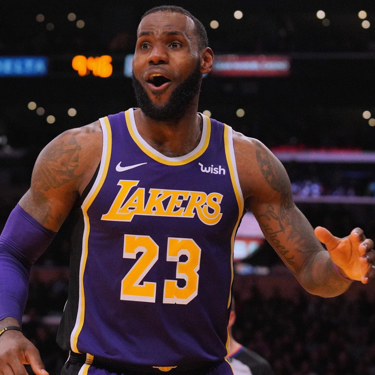 Lakers' LeBron James on Criticism: 'I'm a Staple in This Game'