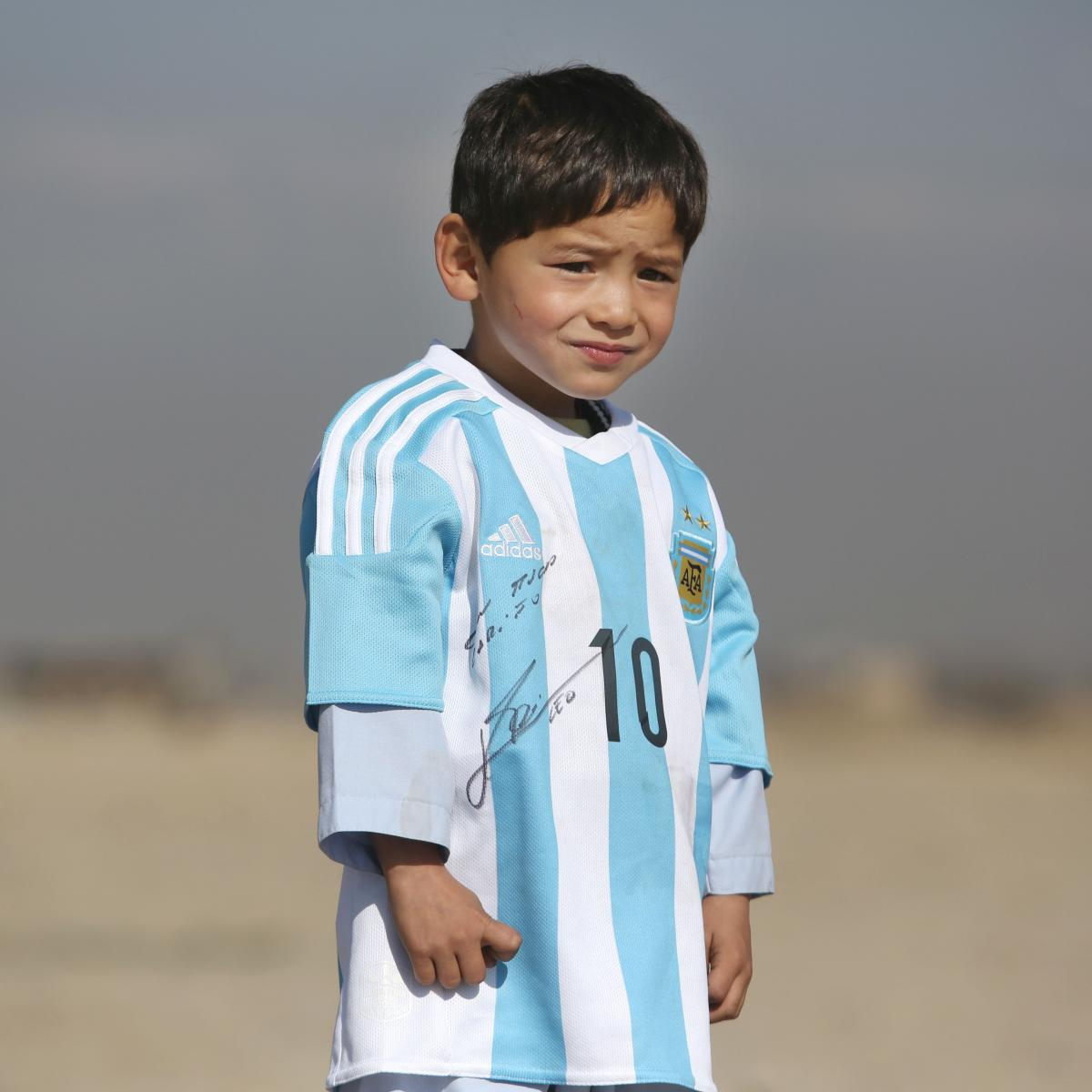 Murtaza Ahmadi, Afghan Lionel Messi Fan, Forced to Flee Home Because of Violence
