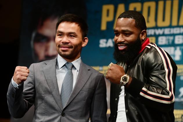 Pacquiao vs. Broner: Early Fight Predictions, PPV Schedule and More