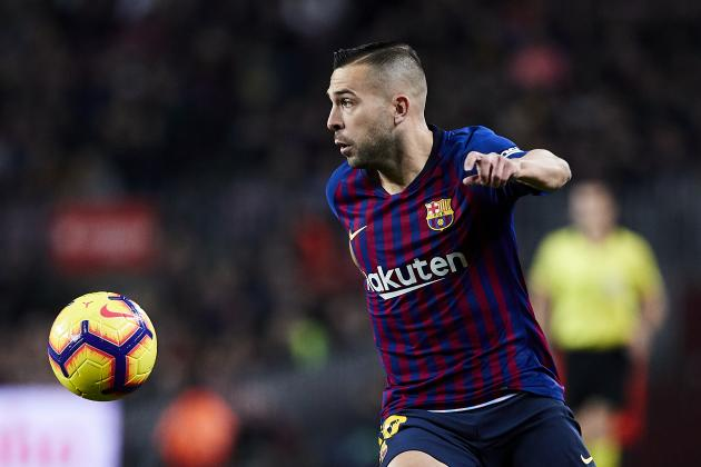 Jordi Alba on Barcelona Contract Talks: 'I Want to Stay Here'