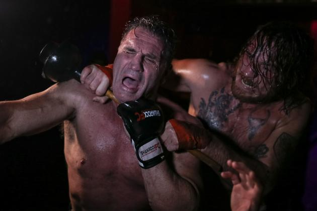 Legendary Ken Shamrock's Bar Brawl Debut Was a Unique and Chaotic Spectacle