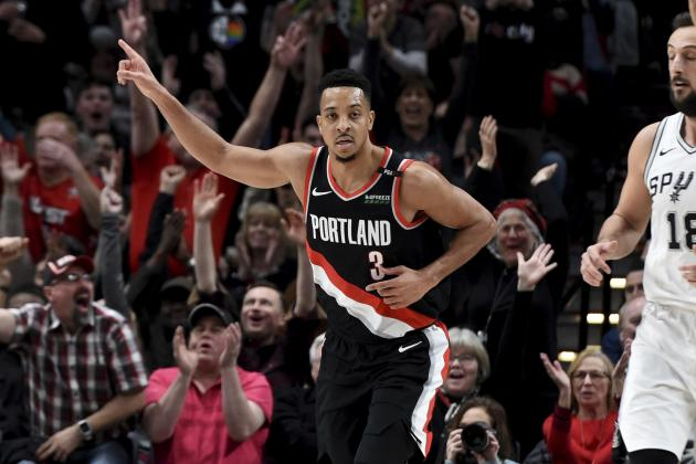 CJ McCollum Ruled Out vs. Spurs After Suffering Left Leg Injury, to Undergo MRI