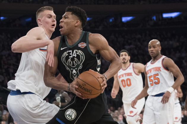 Knicks News: Agent Says NY Was Only Team Not to Scout Giannis in Greece