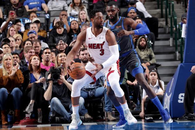 Dwyane Wade Dominant as Heat Beat Luka Doncic, Mavericks