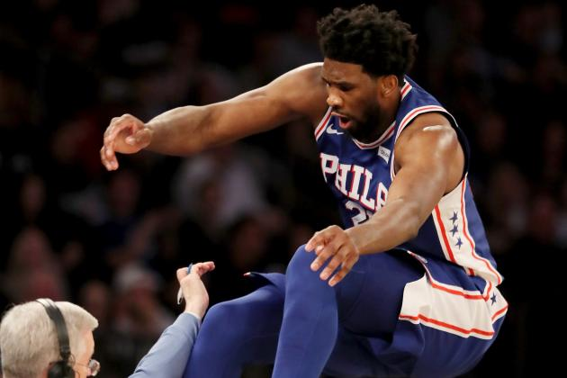 Joel Embiid: 'I Saved' Regina King Jumping over Her for Loose Ball vs. Knicks