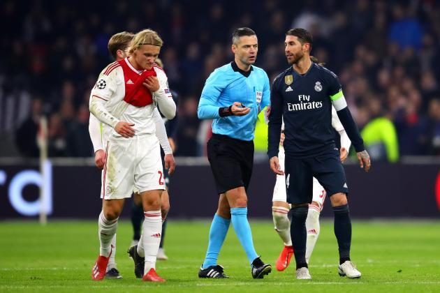 Sergio Ramos Denies Intentional Ajax Booking, Risks Extra Match Ban