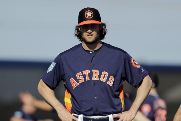 Astros' Gerrit Cole Scratched from Start Because of Hamstring Injury