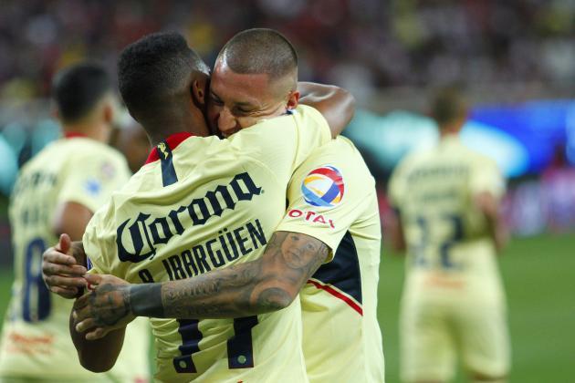 Nicolas Castillo, Club America Beat 10-Man Chivas 2-0 in Liga MX