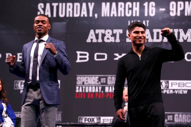 Errol Spence Jr. Dominates Mikey Garcia via Decision, Retains Welterweight Title