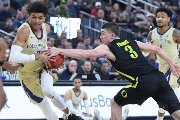Oregon Cruises Past Washington 68-48 to Win 2019 Pac-12 Tournament Title