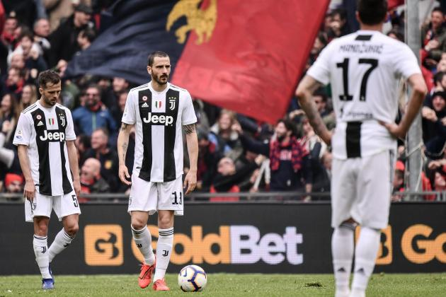 Juventus' Unbeaten Streak Snapped After Loss to Genoa Without Cristiano Ronaldo