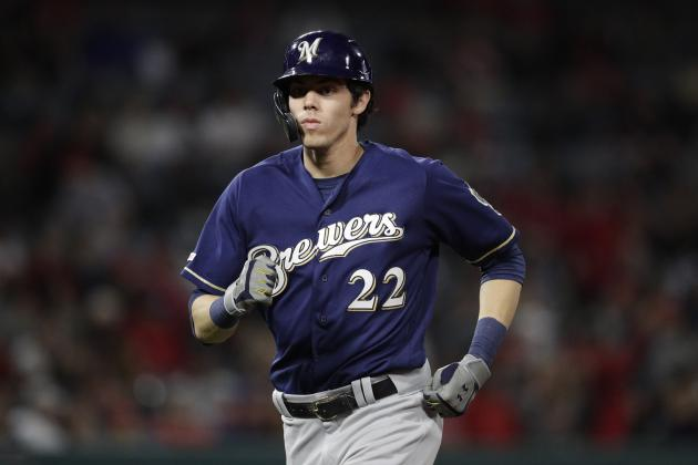 Christian Yelich Out for Season After Knee Injury Diagnosed as Fractured Kneecap