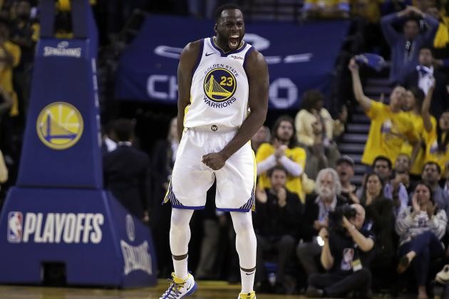 Warriors' Draymond Green 'Wholeheartedly' Believes He's 'The Best Defender Ever'