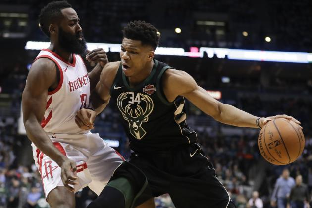 James Harden, Giannis Antetokounmpo, Paul George Named 2018-19 NBA MVP Finalists