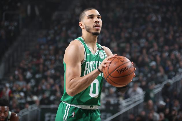 Celtics' Jayson Tatum Speaks on Being Included in Anthony Davis Trade Rumors