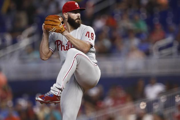 Phillies SP Jake Arrieta Might Discuss Potential Surgery for Elbow Injury