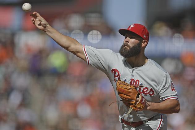 Phillies' Jake Arrieta Placed on IL with Elbow Injury; 'Probably' Out for Season