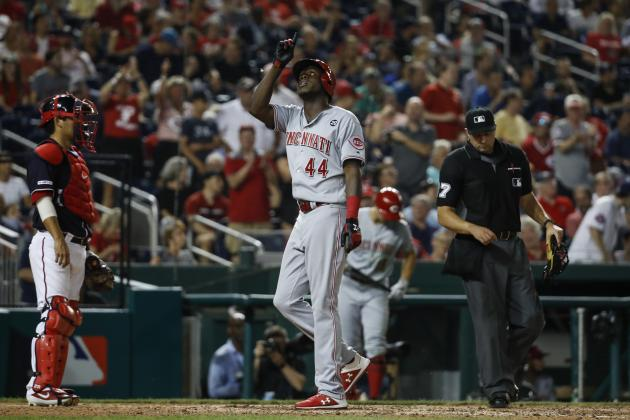 Video: Reds' Aristides Aquino Breaks MLB Record with 8th Homer in 12th-Ever Game