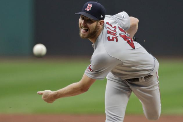 Red Sox SP Chris Sale Becomes Fastest-Ever Player to 2,000 Strikeouts