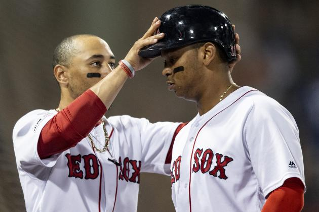 Rafael Devers Ready to Be Face of Red Sox If Mookie Betts Is Traded Away