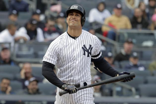 Giancarlo Stanton Hopeful for Pre-Playoff Return; Injury-Plagued Season 'Brutal'