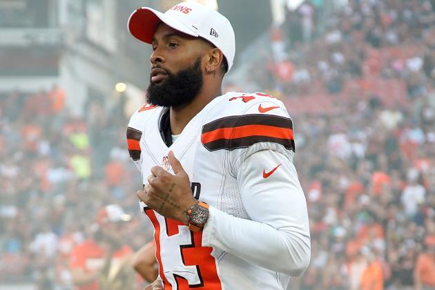Browns' Odell Beckham Jr. Downplays Hip Injury, Says He'll Play Week 1 vs Titans