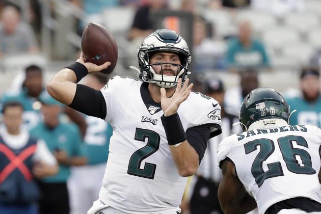 Eagles Backup QB Cody Kessler Suffers Concussion in Preseason Game vs. Jaguars