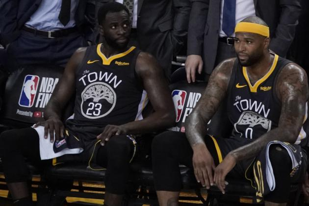 Warriors' Draymond Green 'At a Loss for Words' After DeMarcus Cousins ACL Injury