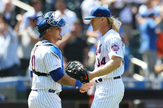 MLB Rumors: Noah Syndergaard Confronted Mets over Catchers, Was 'Livid'