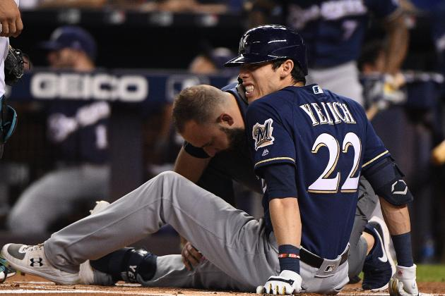 Christian Yelich's Injury Sets Up Wild Finish for NL Wild Card and MVP Races